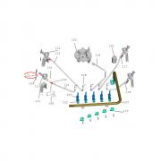Clipe do Eletrodo Fogão Brastemp Ative BFD4VAR 326023245