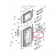 Grade Porta Latas Geladeira Brastemp e Consul Original 326066531