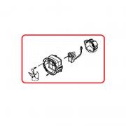 Motor Ventilador Conjunto para Refrigerador Brastemp Side By Side BRS66A 326059728 Original