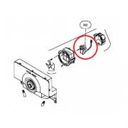 Motor Ventilador para Refrigerador Brastemp Side By Side BRS66AB BRS66AS 326059729 Original
