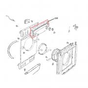 Painel de Controle Superior Secadora Brastemp Ative  BSI10AB BSR10AB W10296410 Original