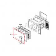 Porta Externa Microondas Brastemp BMF45BB BMF45AB W10331576 Original
