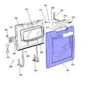 Porta Prata Lava Louça Brastemp Solution 8 Serviços BLE20 PLE20 Original 326046356