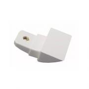 Suporte Branco do Puxador Geladeira Electrolux Original 67405516