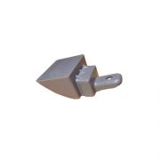 Suporte Inferior do Puxador Geladeira Electrolux Inox Original 67405517