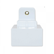 Suporte Superior Puxador Branco Geladeira Electrolux DF36A e DFN42 Original 67401599