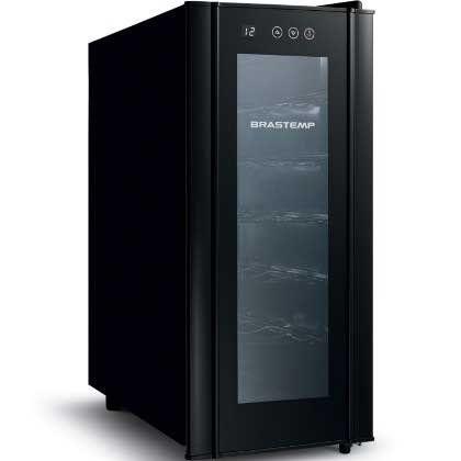Adega Climatizada Brastemp All Black 12 Garrafas - BZC12BE