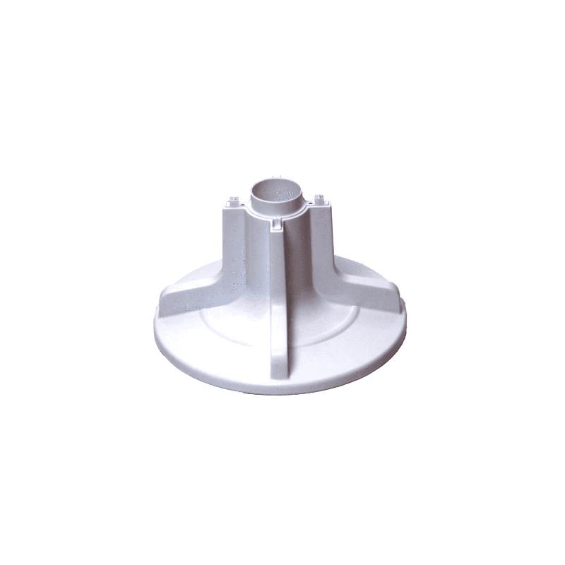 Agitador Inferior Branco Lavadora Brastemp BWB09A e BWL09B Original W10295537