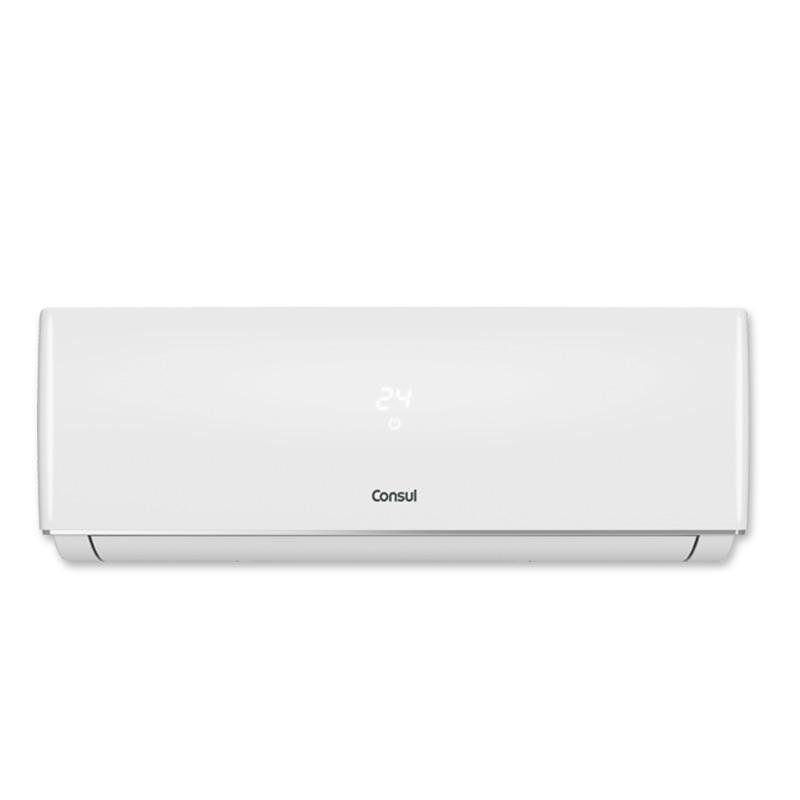 Ar condicionado split 9000 BTUs/h Consul quente e frio com display discreto e unidade externa compacta 220V - CBP09BB