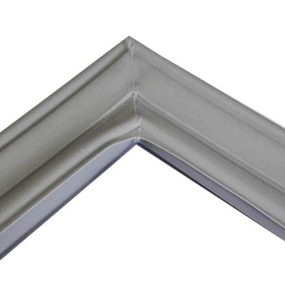 Borracha do Freezer Geladeira Brastemp Inverse  BRE50 BRE49 Inferior Original W10223027