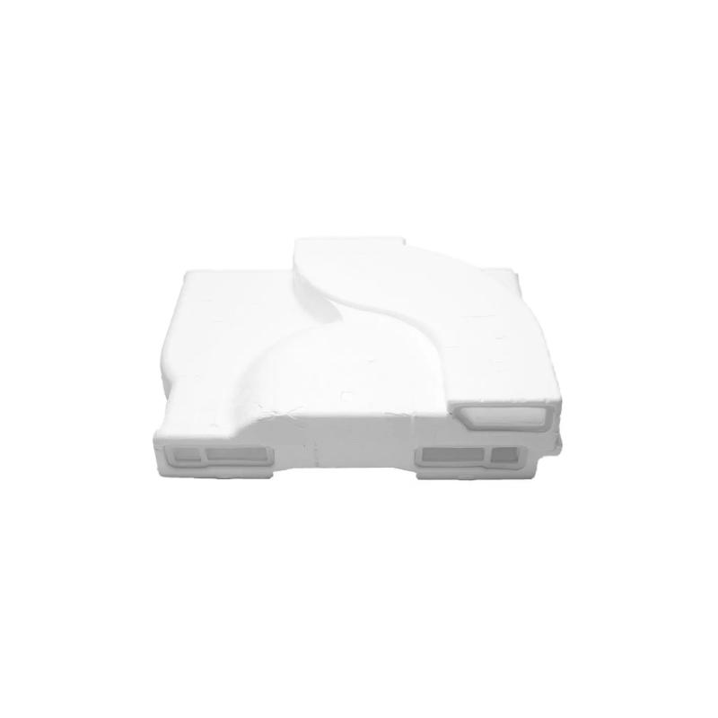 Capa Traseira do Evaporar Geladeira Brastemp Sense Original W10364953