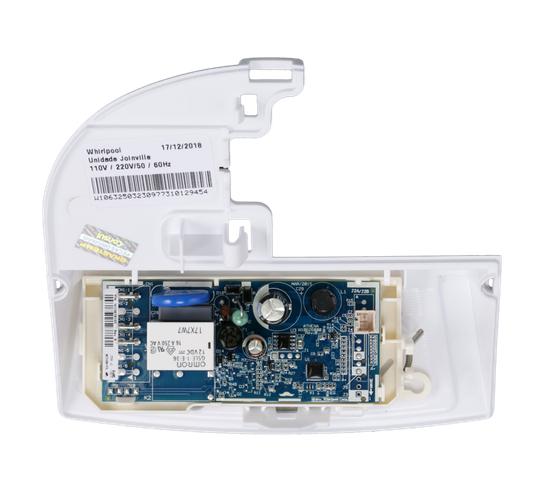 Conjunto Placa Controle e Iluminação Geladeira Consul Original W10632503