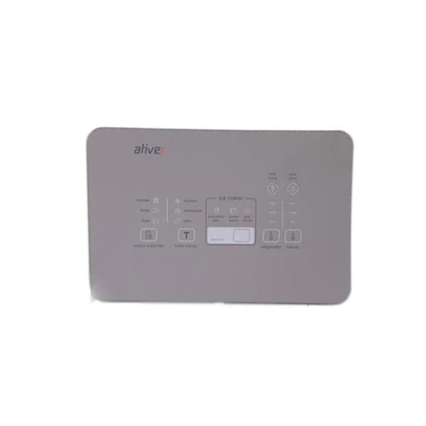 Conjunto Placa Interface Sparsh 2 Win Inox Geladeira Brastemp BRO80AK Original W10887711