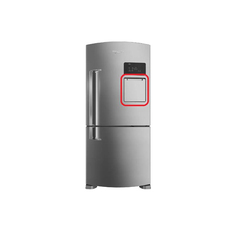 Conjunto Porta Externa Auxiliar Geladeira BRV80A Original W10439269