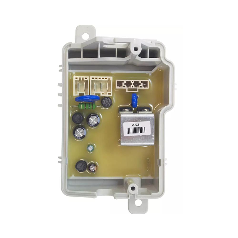 Controle Eletronico Involucro para Lavadora Consul Cargo 127V Kit CWC08AB W10807814 Original