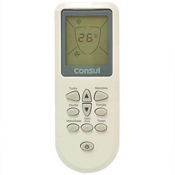 Controle Remoto Ar Condicionado Split Consul Bem Estar 22000 Btus Original W10728917