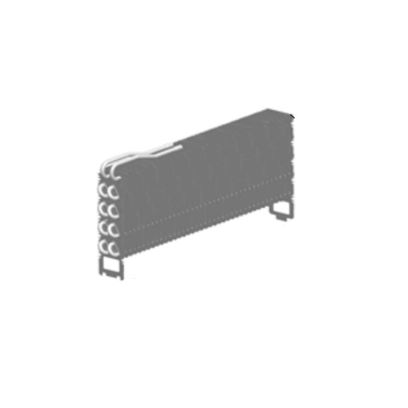 Evaporador Aletado 8 Filas Geladeira Brastemp Inverse Maxi Original W10380552