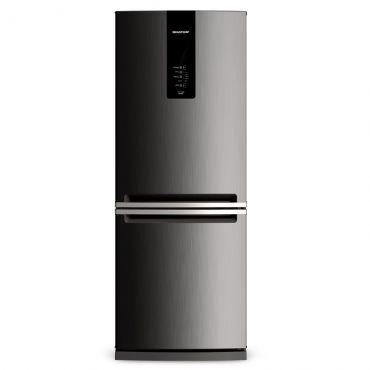 Geladeira Brastemp Frost Free 443 litros Evox - BRE57AK