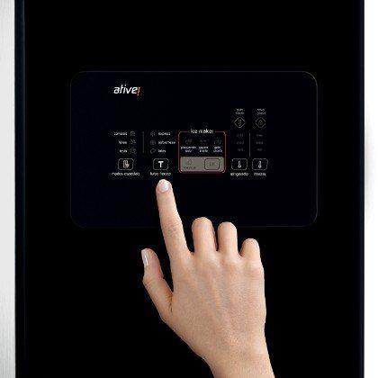 Geladeira Brastemp Side Inverse Black 540 Litros - BRO80AE