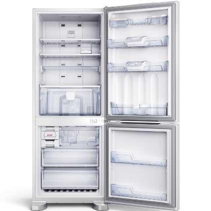 Geladeira Brastemp Viva! Inverse Frost Free 422 Litros - BRE51NB