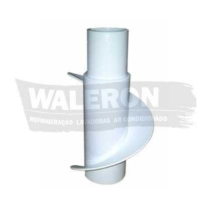 Hélice Agitador Lavadora Brastemp Super Capacidade 7 e 8 kg BWQ24 BWF24 Sexto Sentido Superior Original 326006721