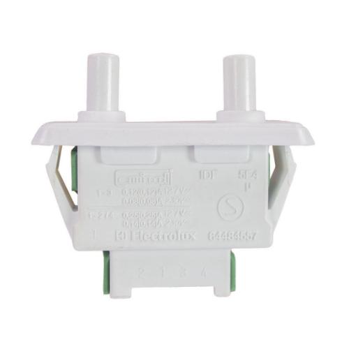 Interruptor Duplo da Porta Geladeira Electrolux Original 64484557