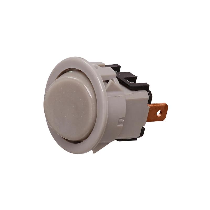 Interruptor Pulsante Prata Fogão Consul CF376 e CF350 Original 326066752