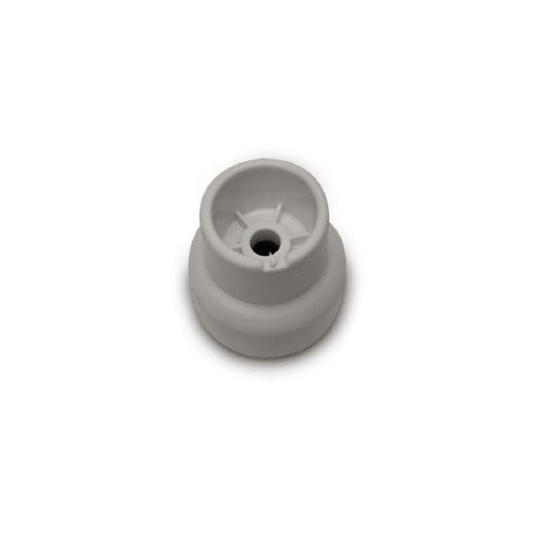 Pé Nivelador Frontal Branco Geladeira e Freezer Brastemp Consul Original W10279058