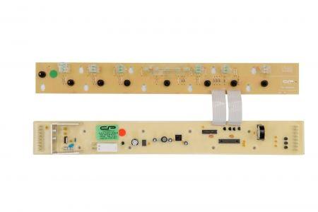 Placa Eletrônica Lavadora Brastemp BWQ24B Tira Mancha Interface + Potência Paralela Bivolt