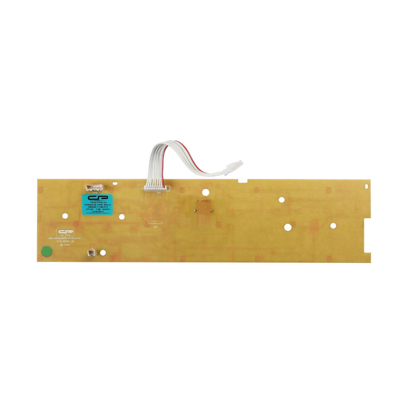 Placa Interface Lavadora Brastemp BWL09B Paralela W10308925