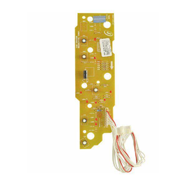 Placa Eletrônica Lavadora Brastemp Clean 10 kg BWC10 Interface Bivolt Original W10198866
