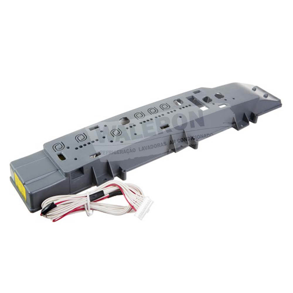Placa Eletrônica Lavadora Brastemp Clean 10 kg BWC10 Interface Bivolt Original Flat Branco W10212556