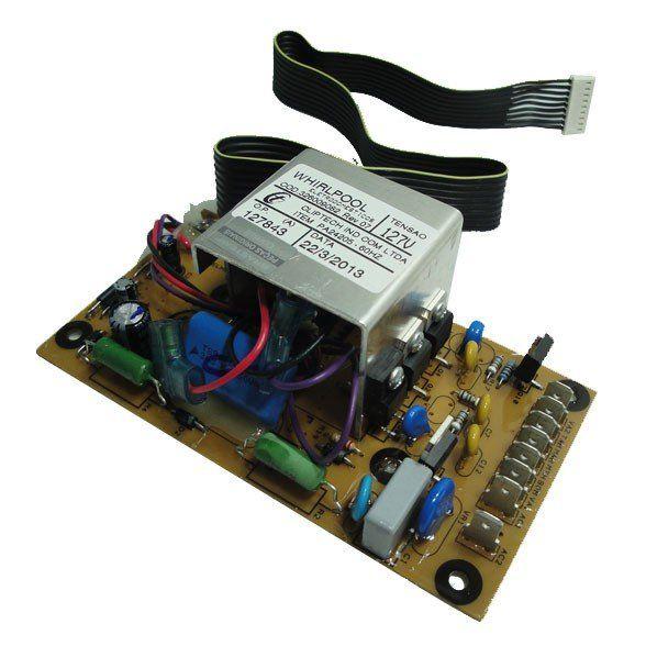 Placa Eletrônica Lavadora Brastemp Smart 5kg e Advantech 6 Kg BWB22 BWM06 de Potência 127V Original