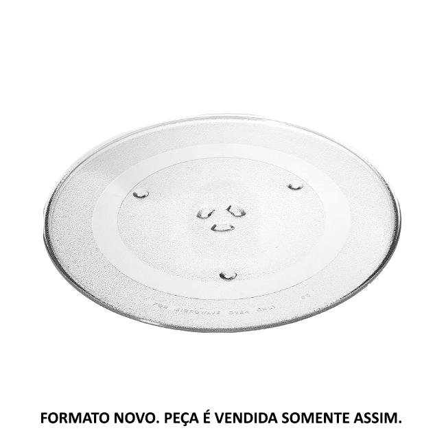 Prato Giratório Microondas Brastemp Gourmand e Defrost Original W10531726