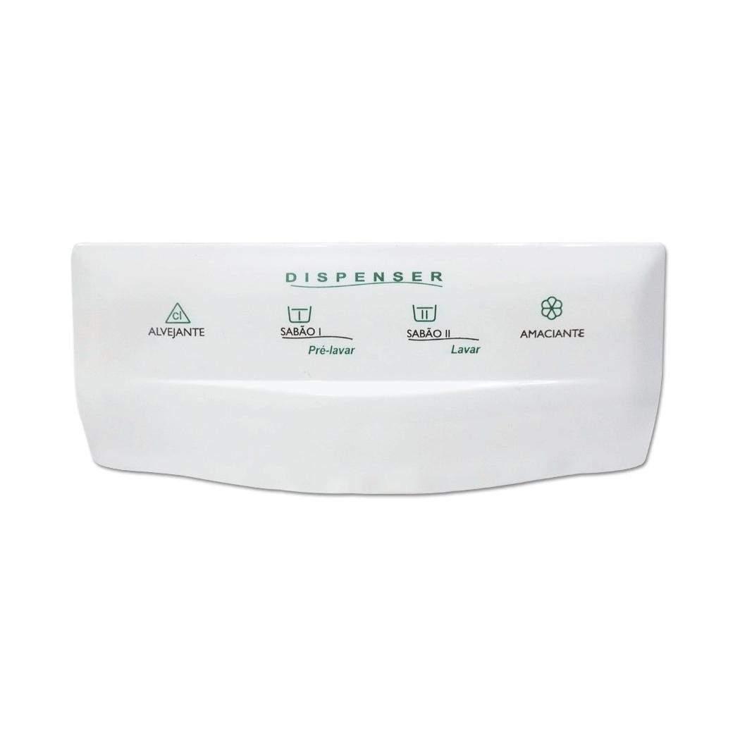 Puxador Dispenser Lavadora Brastemp BWT09A Paralelo 326066934