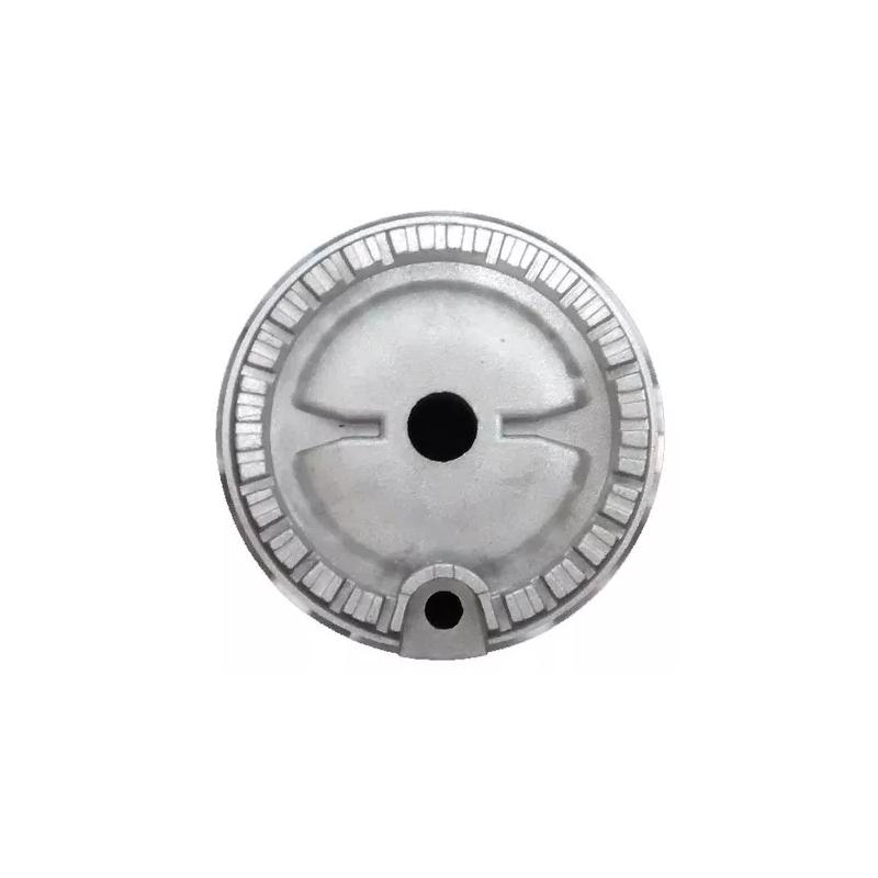 Queimador Semi Rápido Aluminio Fogão Brastemp Jobim e Unique Original 326039794