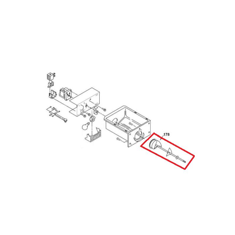 Transportador de Gelo Espiral Geladeira Brastemp Side By Side 326028371 Original