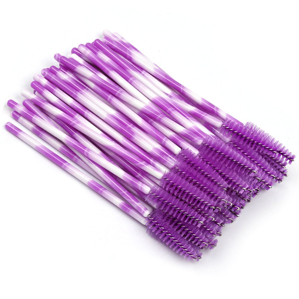 Escovinhas para Cílios - Coloridas c/ 50