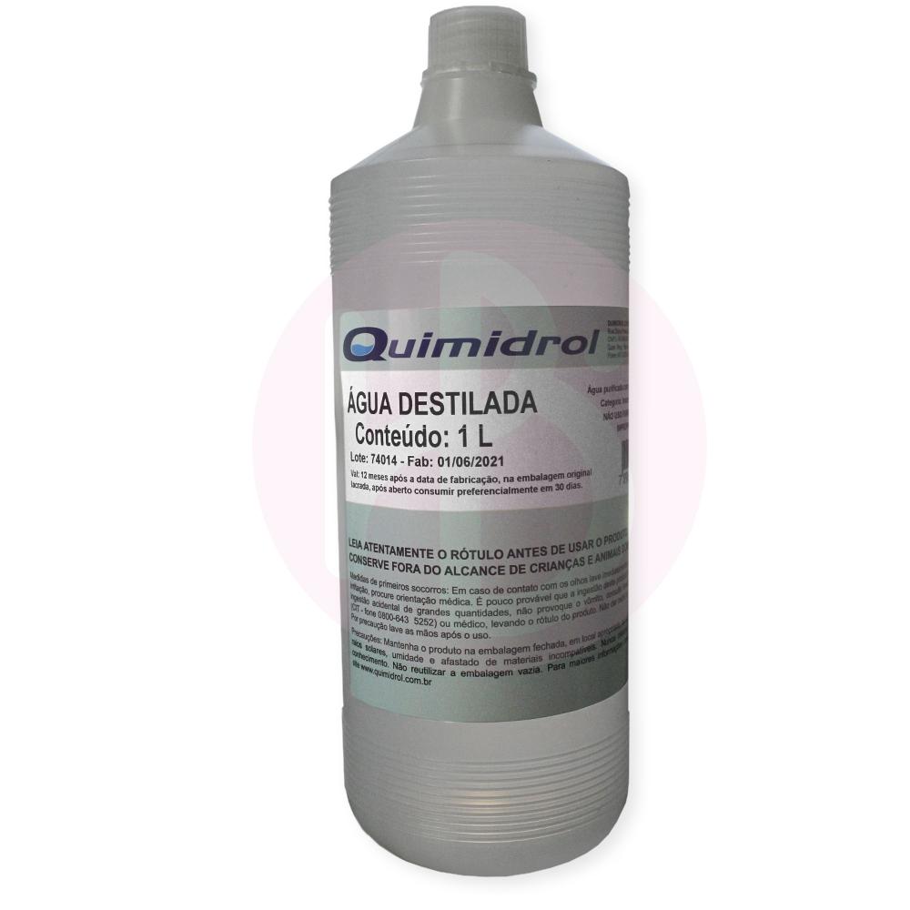 Água Destilada Quimidrol - 1000 ml