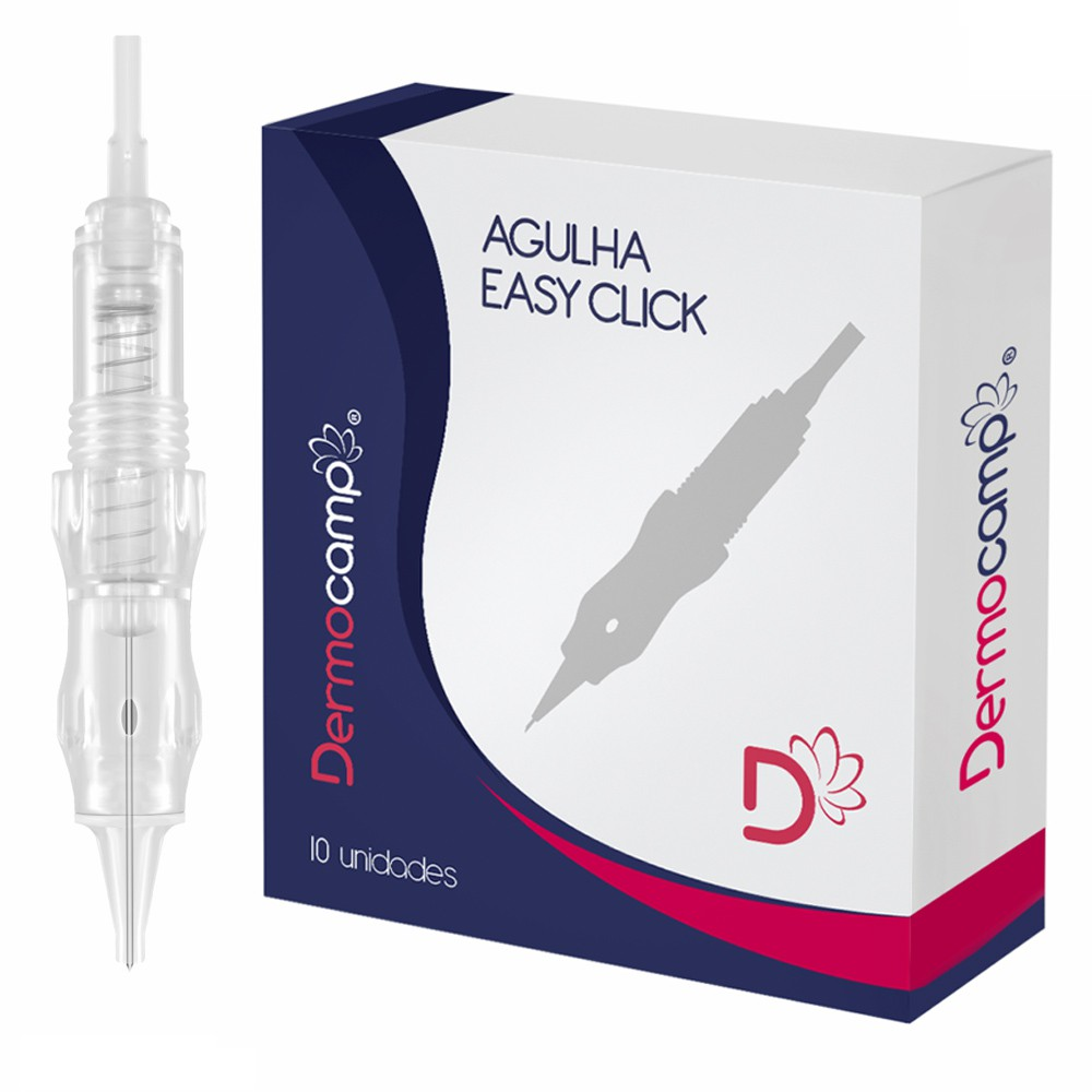 Agulha 1 Ponta 0.25mm Dermocamp - Sharp Pro ou Black