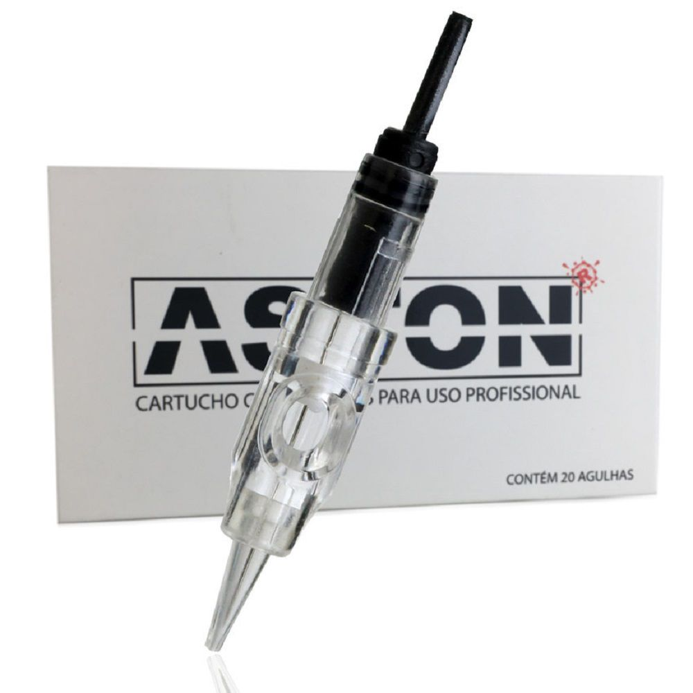 Agulha Easyclick 1 Ponta Silicone Aston 0.40 mm