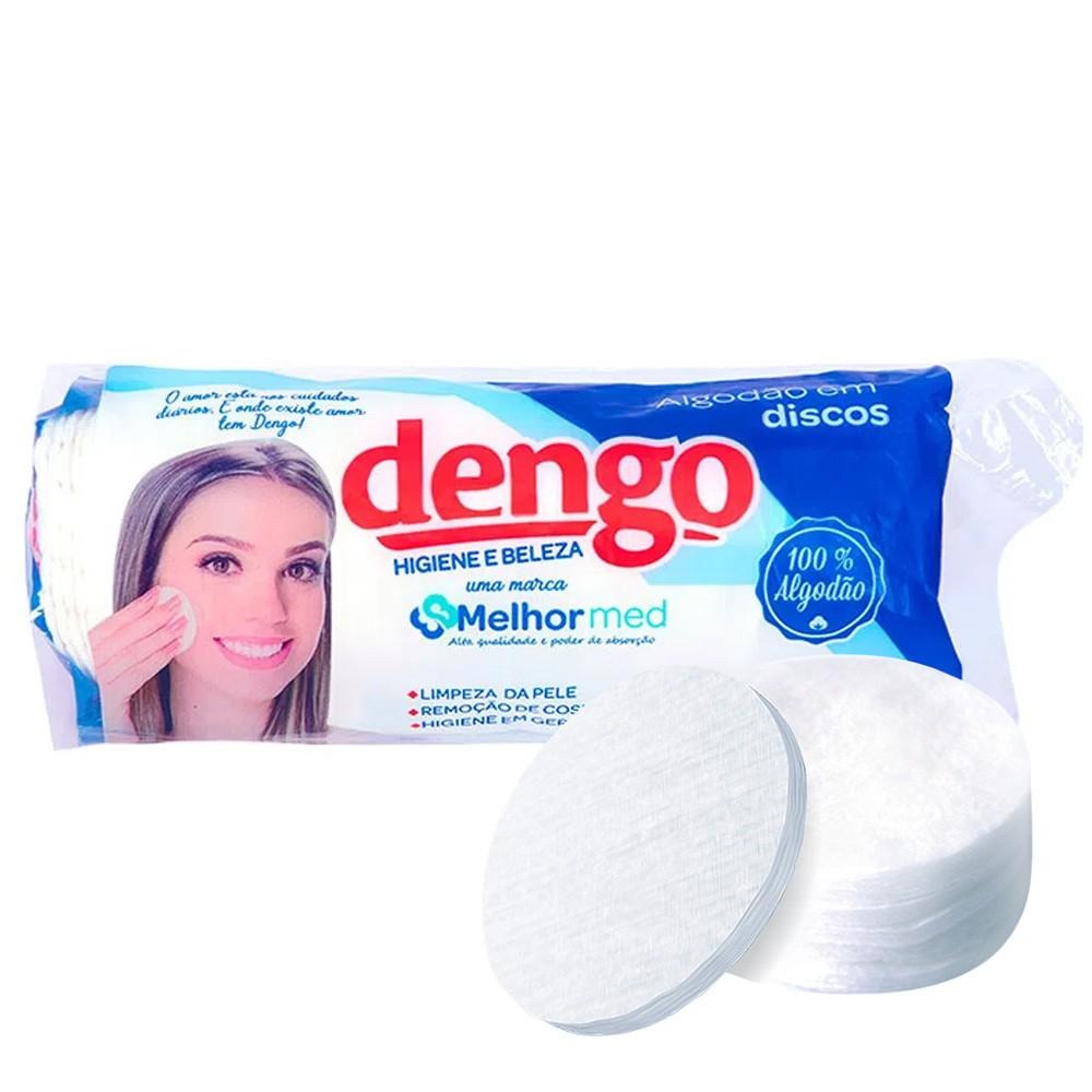 Kit de Algodão em Disco Dengo 105g c/ 180