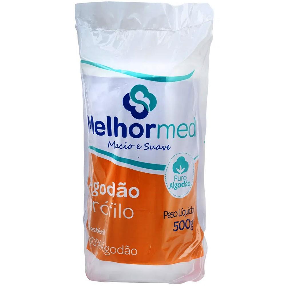 Algodão Hidrófilo Melhormed 500 g