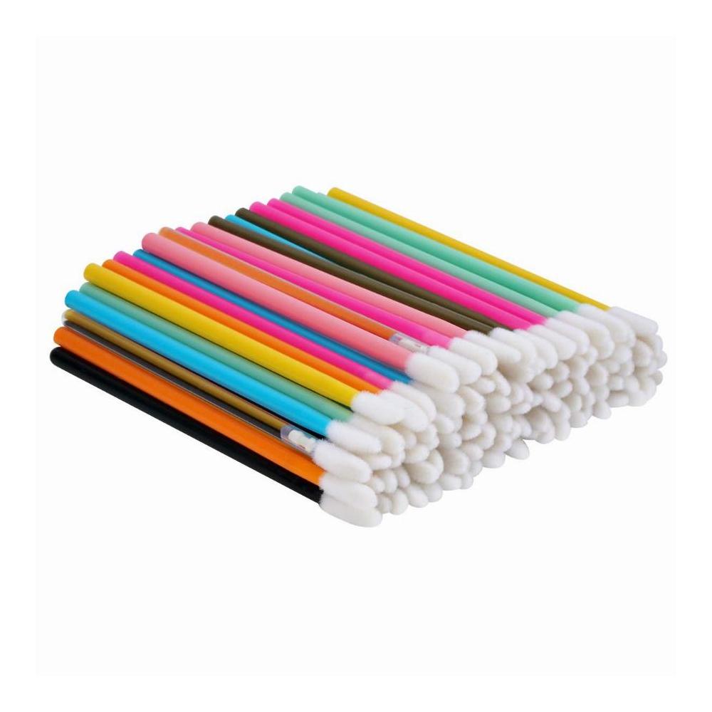 Aplicador Colorido de Batom Descartável c/ 50