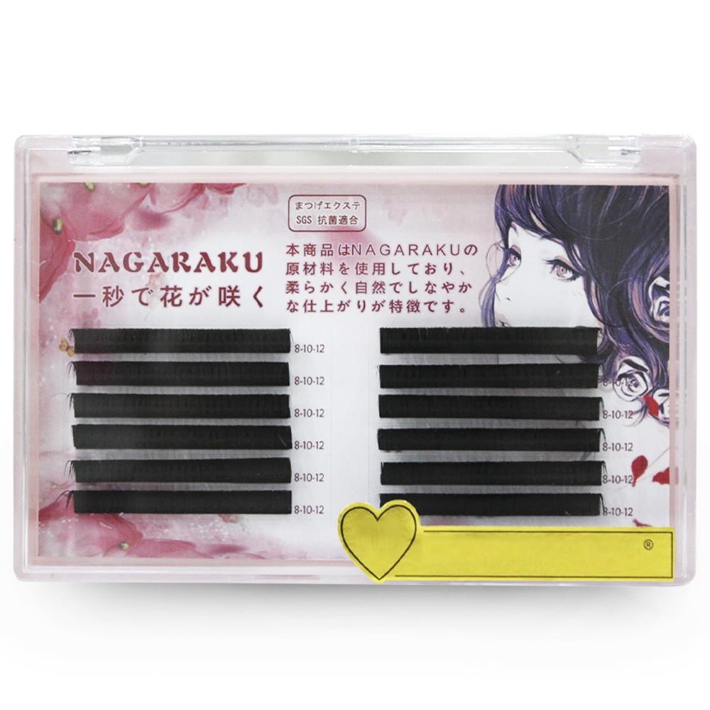 Cílios Auto Fan Nagaraku 0.03C Mix - Mega Volume