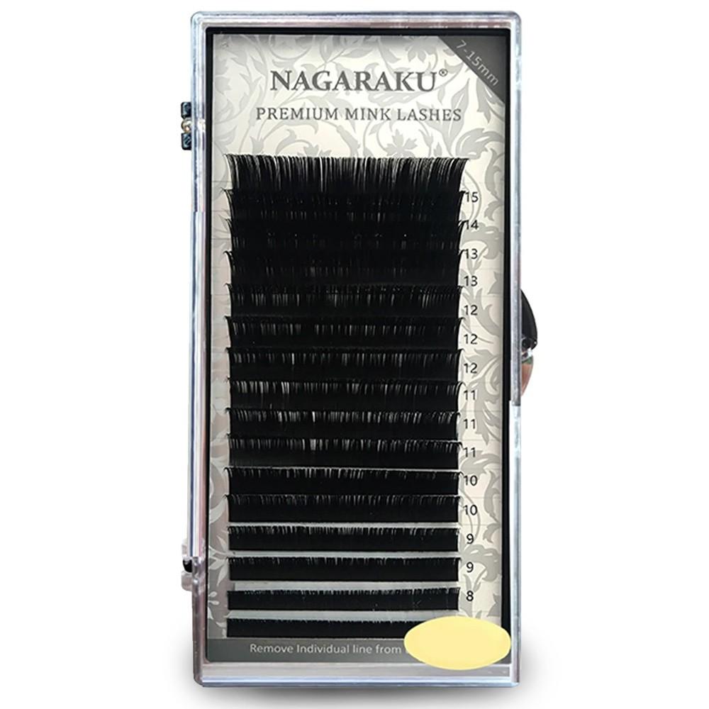 Cílios Nagaraku 0.07C  Mix - Volume Russo