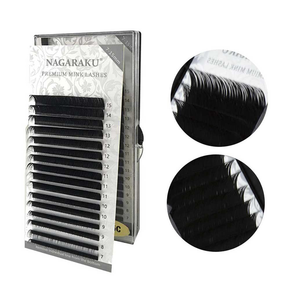 Cílios Nagaraku 0.20D Premium - Mix