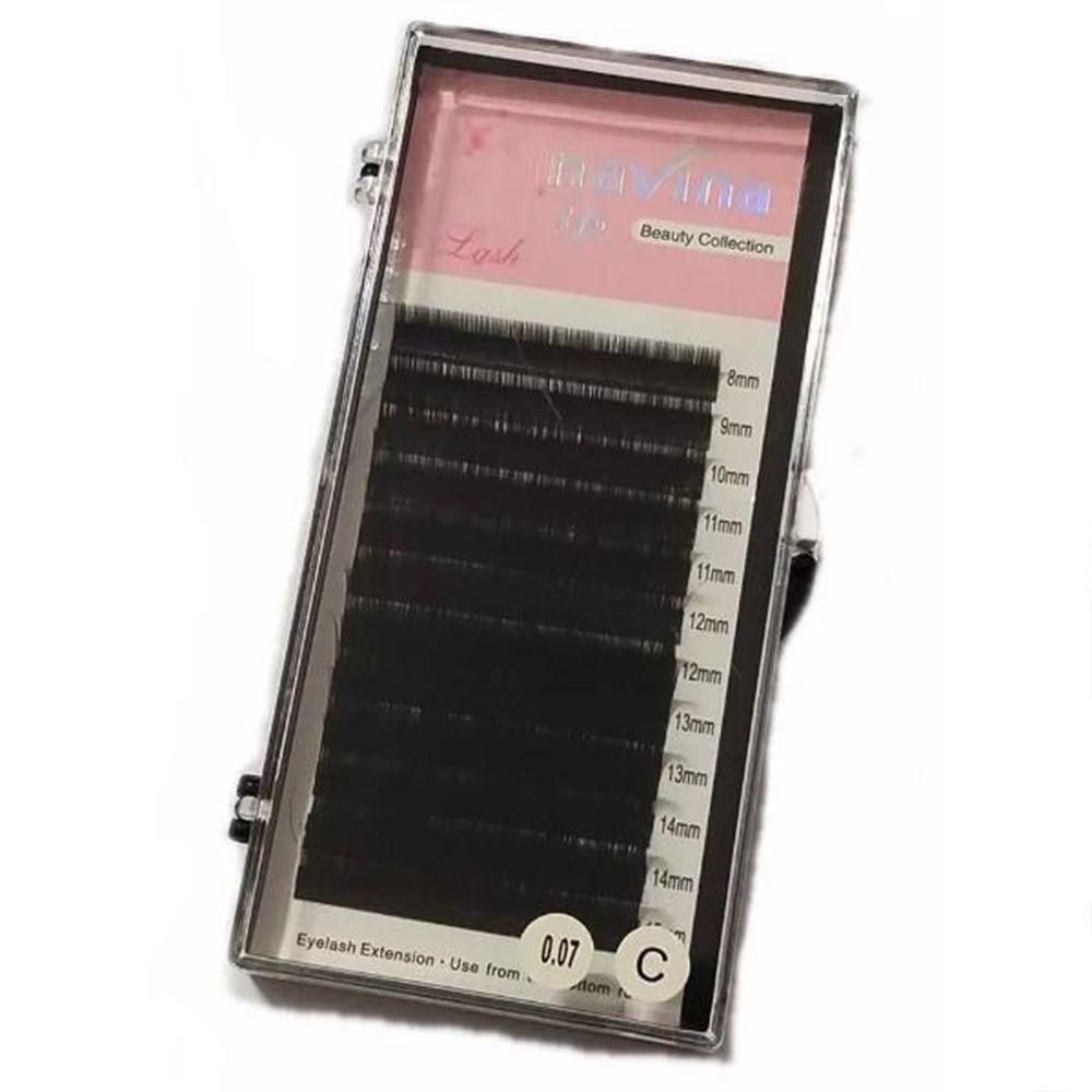 Cílios Navina Fio a Fio 0.07C Mix 8 ao 15 mm