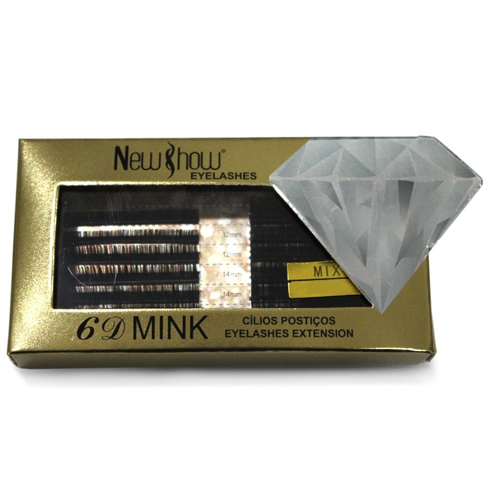 Cilios New Show 3D Mink Mix Par 0.12C