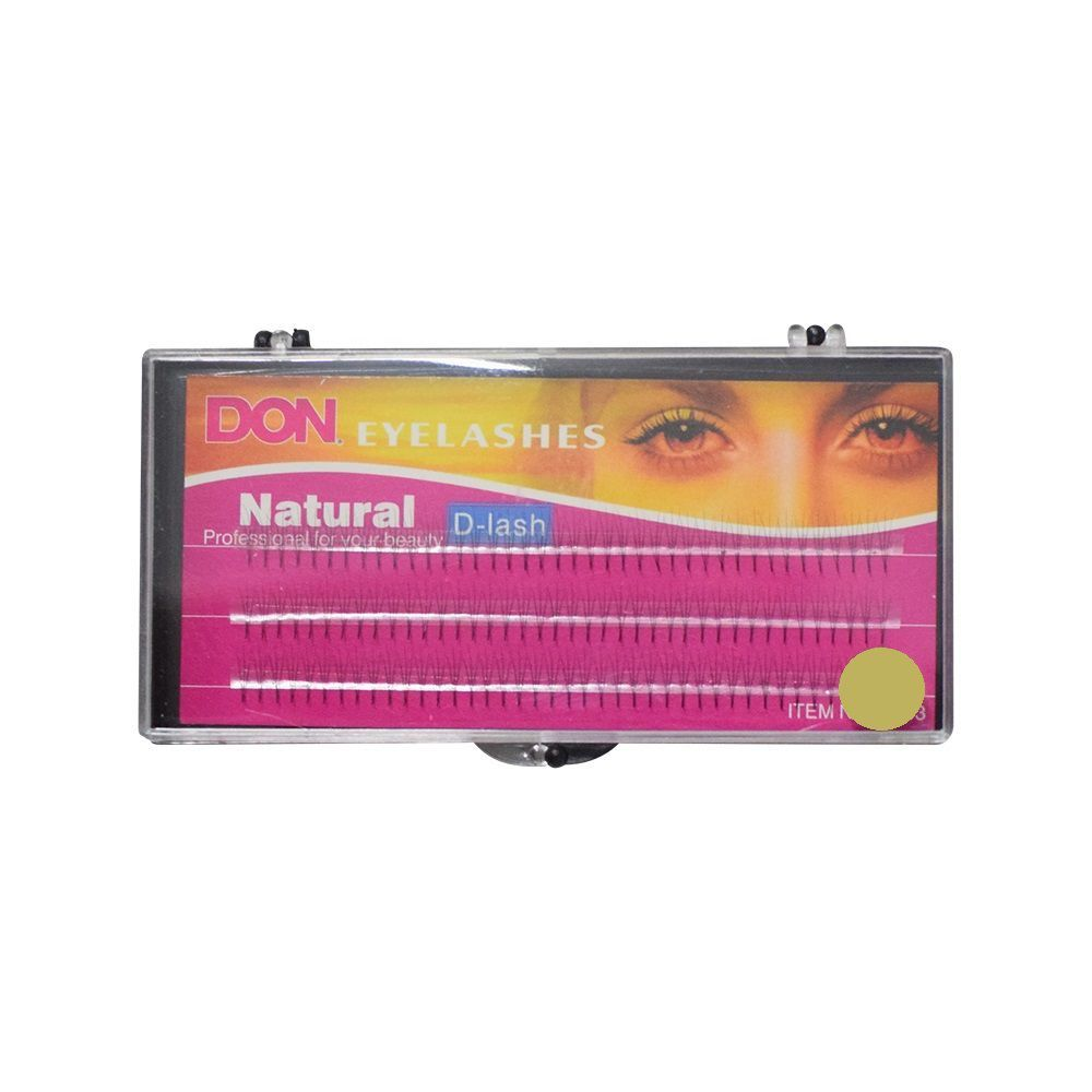 Cílios Tufos Don 3 Fios por Tufo Natural D-Lashes 0.07C